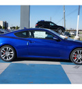 hyundai genesis coupe 2013 blue coupe 3 8 track gasoline 6 cylinders rear wheel drive automatic 77094