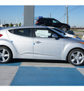 hyundai veloster 2013 silver coupe dct gasoline 4 cylinders front wheel drive automatic 77094