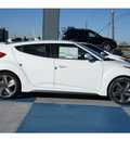 hyundai veloster turbo 2013 white coupe a t gasoline 4 cylinders front wheel drive automatic 77094