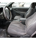 chevrolet cavalier 2002 black coupe ls gasoline 4 cylinders front wheel drive automatic 77018
