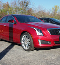 cadillac ats 2013 red sedan 2 0l premium gasoline 4 cylinders rear wheel drive automatic 77074