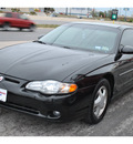 chevrolet monte carlo 2001 black coupe ss gasoline 6 cylinders front wheel drive automatic 78217