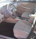toyota corolla 2011 gray sedan le gasoline 4 cylinders front wheel drive automatic 76053