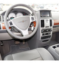 chrysler town and country 2009 black van touring gasoline 6 cylinders front wheel drive automatic 78853