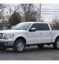ford f 150 2012 white lariat flex fuel 8 cylinders 4 wheel drive automatic 79045