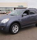 chevrolet equinox 2013 blue lt gasoline 4 cylinders front wheel drive 6 speed automatic 78224