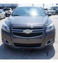 chevrolet malibu 2013 dk  gray sedan gasoline 4 cylinders front wheel drive 6 spd auto,elec cntlled 77090