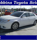 toyota avalon 2011 white sedan gasoline 6 cylinders front wheel drive automatic 75503