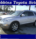 buick enclave 2010 silver suv cxl gasoline 6 cylinders front wheel drive automatic 75503
