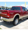 ram 2500 2012 dk  red laramie longhorn diesel 6 cylinders 4 wheel drive automatic with overdrive 77642