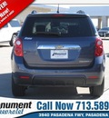 chevrolet equinox 2013 blue suv lt gasoline 4 cylinders front wheel drive automatic 77503