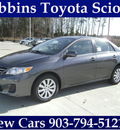 toyota corolla 2013 gray sedan le gasoline 4 cylinders front wheel drive automatic 75569