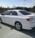 toyota corolla 2013 white sedan s gasoline 4 cylinders front wheel drive automatic 75569