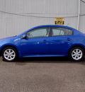 nissan sentra 2009 blue sedan 2 0 sr fe gasoline 4 cylinders front wheel drive automatic with overdrive 98371