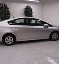 toyota prius 2010 silver iv hybrid 4 cylinders front wheel drive automatic 91731
