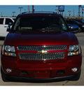 chevrolet suburban 2011 red suv ltz 1500 flex fuel 8 cylinders 2 wheel drive automatic 77090