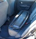 nissan versa 2009 black hatchback 1 8 s gasoline 4 cylinders front wheel drive automatic 77539