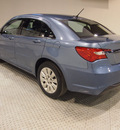 chrysler 200 2011 lt  blue sedan lx gasoline 4 cylinders front wheel drive automatic 75219