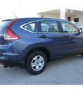 honda cr v 2013 blue suv lx gasoline 4 cylinders front wheel drive not specified 77034