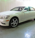 mercedes benz s class 2009 white sedan s550 4matic gasoline 8 cylinders all whee drive automatic 44883