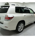 toyota highlander hybrid 2012 white suv limited hybrid 6 cylinders all whee drive not specified 91731