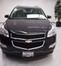 chevrolet traverse 2011 black lt gasoline 6 cylinders all whee drive automatic 91731