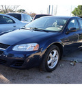 dodge stratus 2005 dk  blue sedan sxt gasoline 6 cylinders front wheel drive automatic 78748