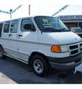 dodge b1500 ram van 1999 white van v6 automatic 78654