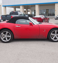 pontiac solstice 2009 red gxp gasoline 4 cylinders rear wheel drive 5 speed manual 78009