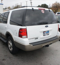 ford expedition 2003 white suv eddie bauer gasoline 8 cylinders sohc rear wheel drive automatic 75062