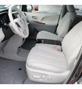toyota sienna 2013 dk  gray van xle 8 passenger gasoline 6 cylinders front wheel drive automatic 77469