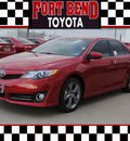 toyota camry 2012 red sedan se sport limited edition gasoline 4 cylinders front wheel drive automatic 77469