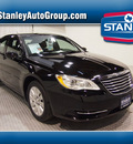 chrysler 200 2011 black sedan lx gasoline 4 cylinders front wheel drive automatic 75219