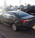 toyota camry hybrid 2012 gray sedan xle hybrid 4 cylinders front wheel drive cont  variable trans  76053