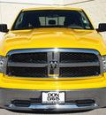 dodge ram 1500 2009 yellow slt gasoline 8 cylinders 2 wheel drive automatic 76011