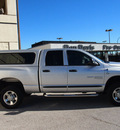 dodge ram 2500 2006 silver slt diesel 6 cylinders 4 wheel drive automatic with overdrive 76011