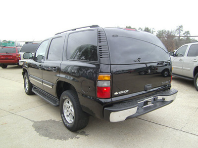 chevrolet tahoe 2005 black suv ls gasoline 8 cylinders rear wheel drive automatic 75503