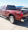 ford f 250 super duty 2013 red xlt biodiesel 8 cylinders 4 wheel drive automatic 76108