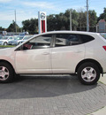 nissan rogue 2009 white suv s gasoline 4 cylinders front wheel drive automatic 33884