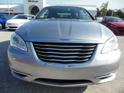 chrysler 200 convertible 2013 silver limited flex fuel 6 cylinders front wheel drive automatic 34731