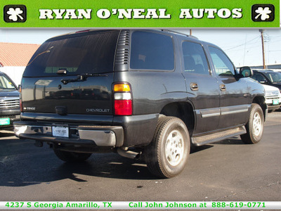chevrolet tahoe 2005 dk  gray suv fleet gasoline 8 cylinders 4 wheel drive automatic 79110