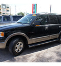 ford expedition 2003 black suv eddie bauer gasoline 8 cylinders sohc rear wheel drive automatic 78666