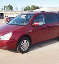 kia sedona 2012 red van lx gasoline 6 cylinders front wheel drive automatic 77375