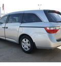 honda odyssey 2013 silver van lx gasoline 6 cylinders front wheel drive not specified 77034