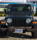 jeep wrangler 2005 green suv unlimited 6 cylinders automatic 27569