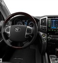 toyota land cruiser 2013 white suv 8 cylinders not specified 75067