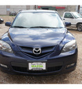 mazda mazda3 2008 blue hatchback s touring gasoline 4 cylinders front wheel drive automatic 78757