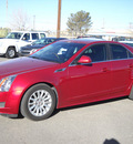 cadillac cts 2012 red sedan luxury gasoline 6 cylinders rear wheel drive automatic 79925