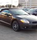 mitsubishi eclipse spyder 2012 dk  gray gs sport gasoline 4 cylinders front wheel drive shiftable automatic 77074