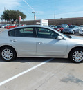nissan altima 2011 silver sedan 2 5 s gasoline 4 cylinders front wheel drive shiftable automatic 77477